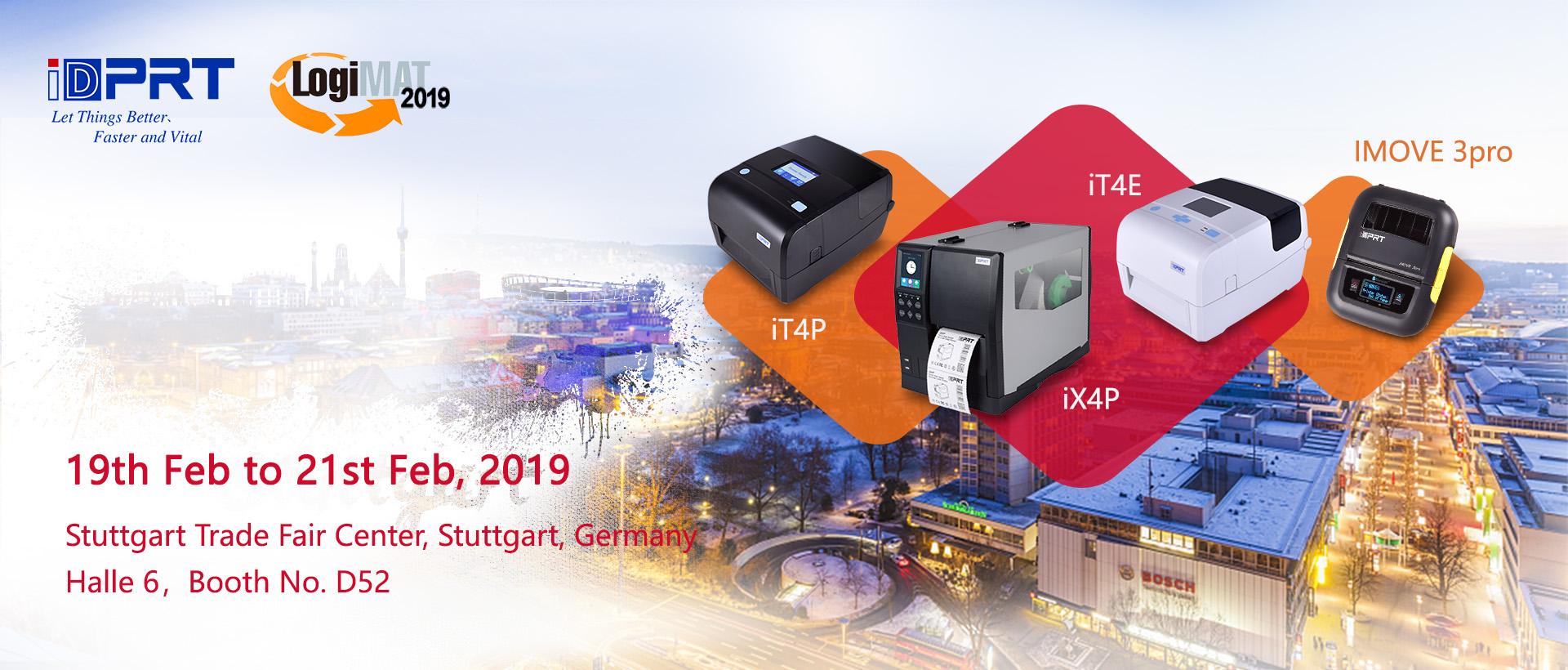 LogiMAT, Stuttgart, 19-21 February, 2019